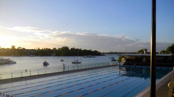 cabarita pool dawn