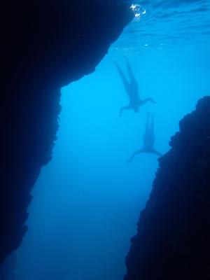 costa brava oceanswimsafaris.com swim sea cave