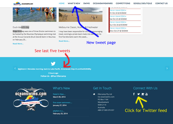 osc home page twitter guide
